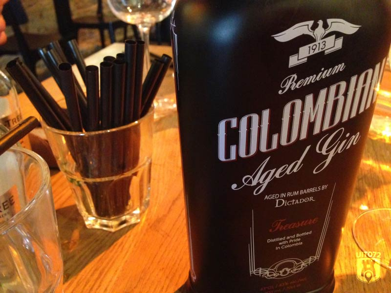 Gin & Tonic: Columbian (1480|FoodBar)