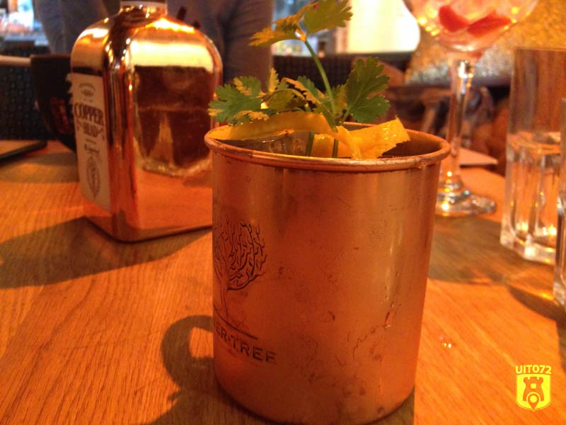 Gin & Tonic: Copper Head (1480|FoodBar)