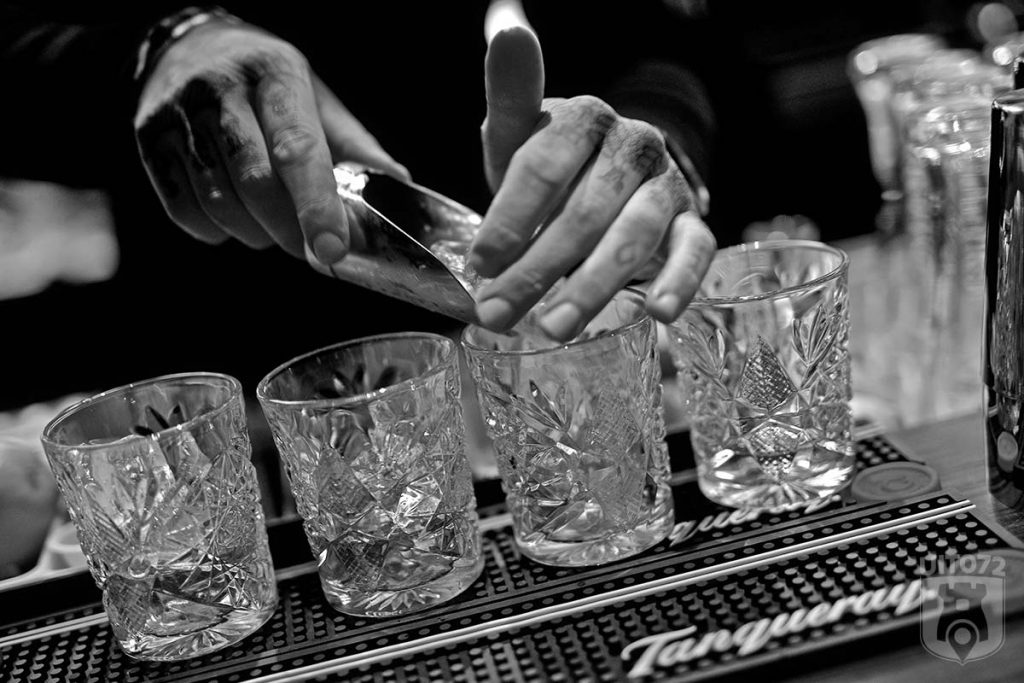 Fellini: ijs bij gin & tonic