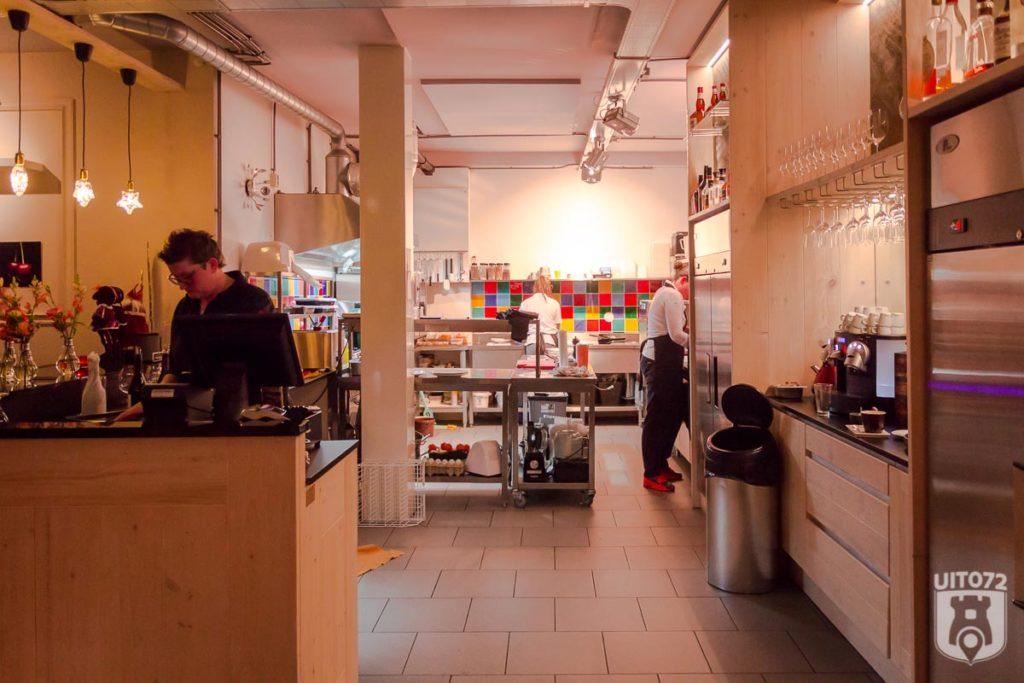 Keuken van Rue de la Plume