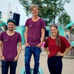 Team van Stadsstrand de Kade