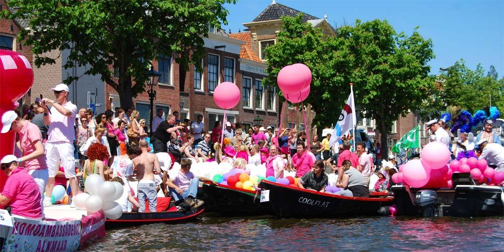 1811 Alkmaar Roze Week