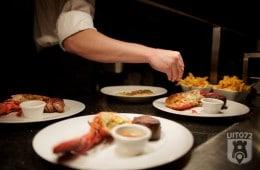 Steak & Lobster: garneren