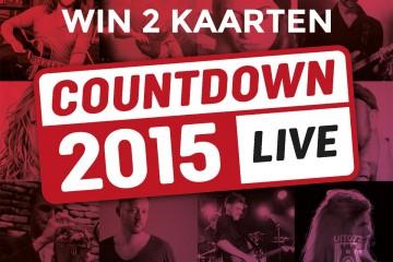 Countdown 2015 LIVE (Win 2 kaarten)