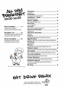 IJkgebouw Alkmaar (menu)