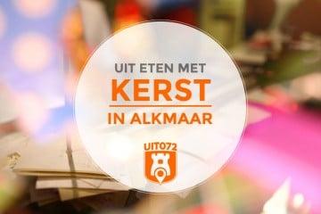 Uit eten met kerst in Alkmaar