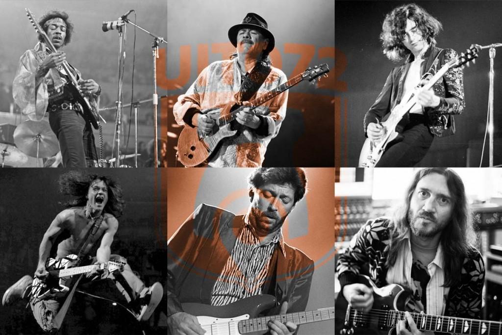 Beste gitaristen van de wereld
