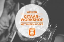 Win gitaarworkshop Ruben Hoeke