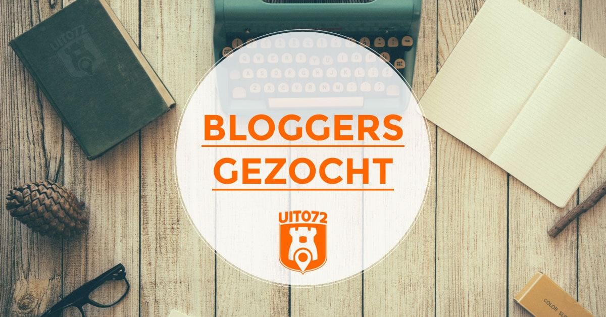 Bloggers gezocht