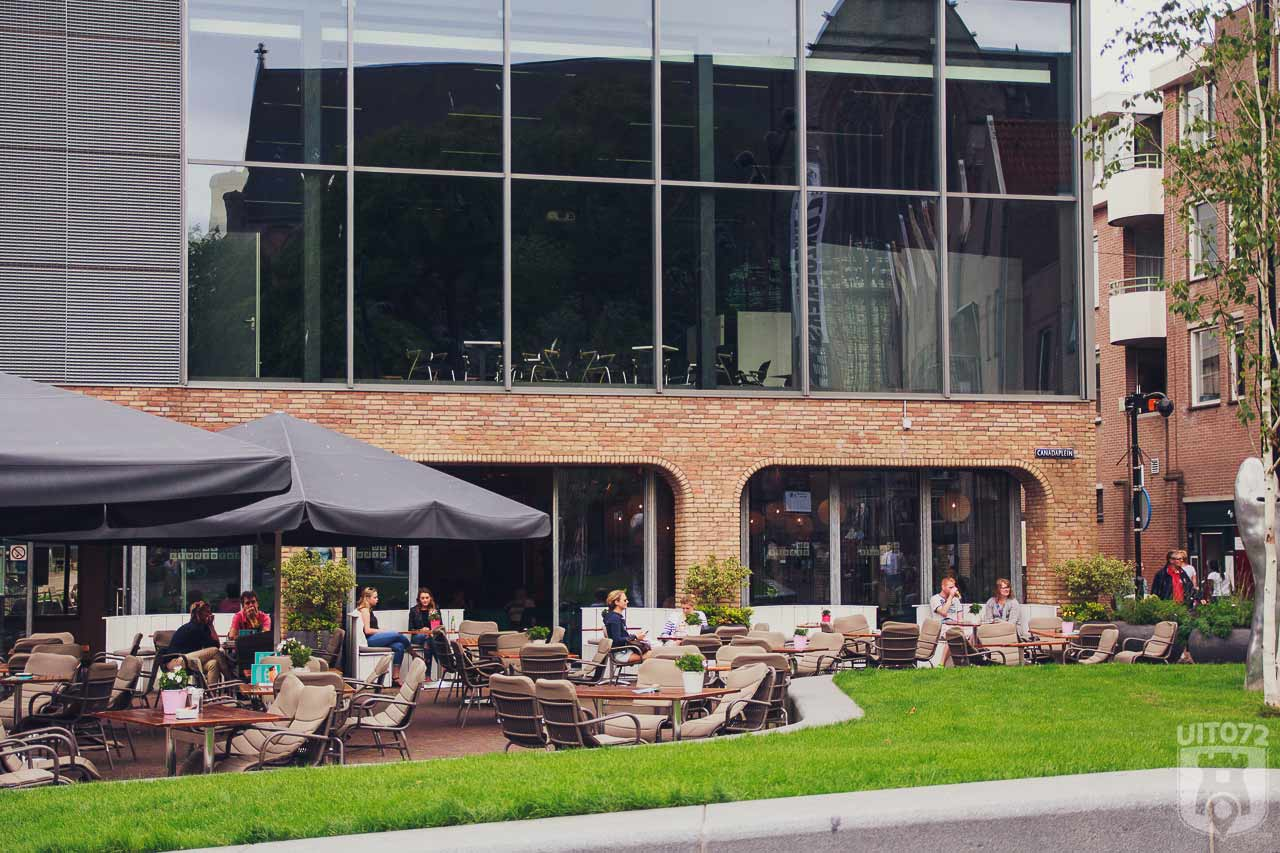 De Studio Alkmaar: Terras