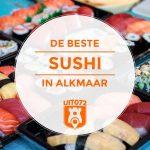 8x Sushi in Alkmaar
