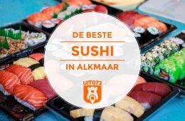 Beste sushi in Alkmaar