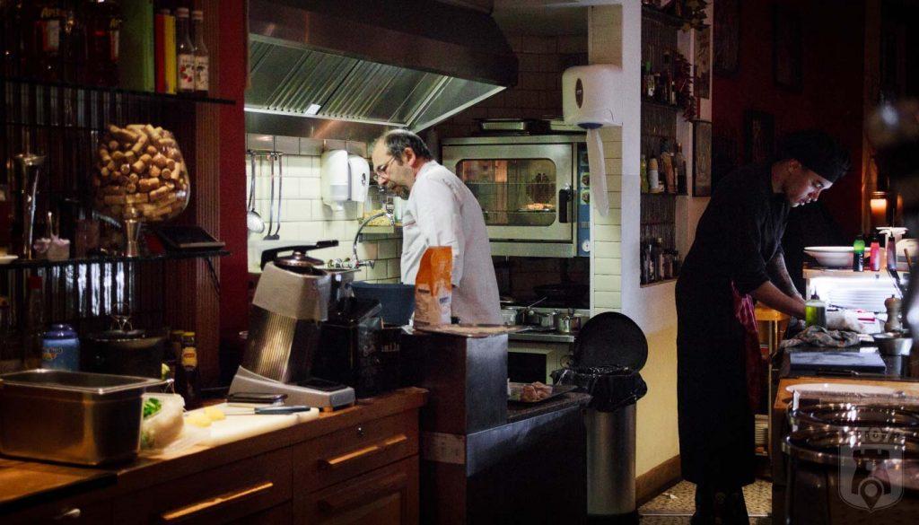 Italica Ristobar - in de keuken