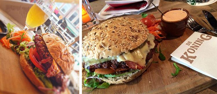De Koning hamburger