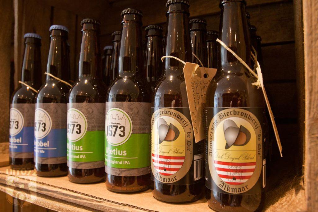Alkmaarse biertjes van Brouwerij 1573 en De Die