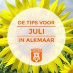 10 tips voor juli in Alkmaar
