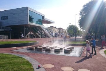 Station Alkmaar met Kaasfontein