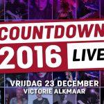 Win 2 kaarten voor Countdown 2016 LIVE in Alkmaar