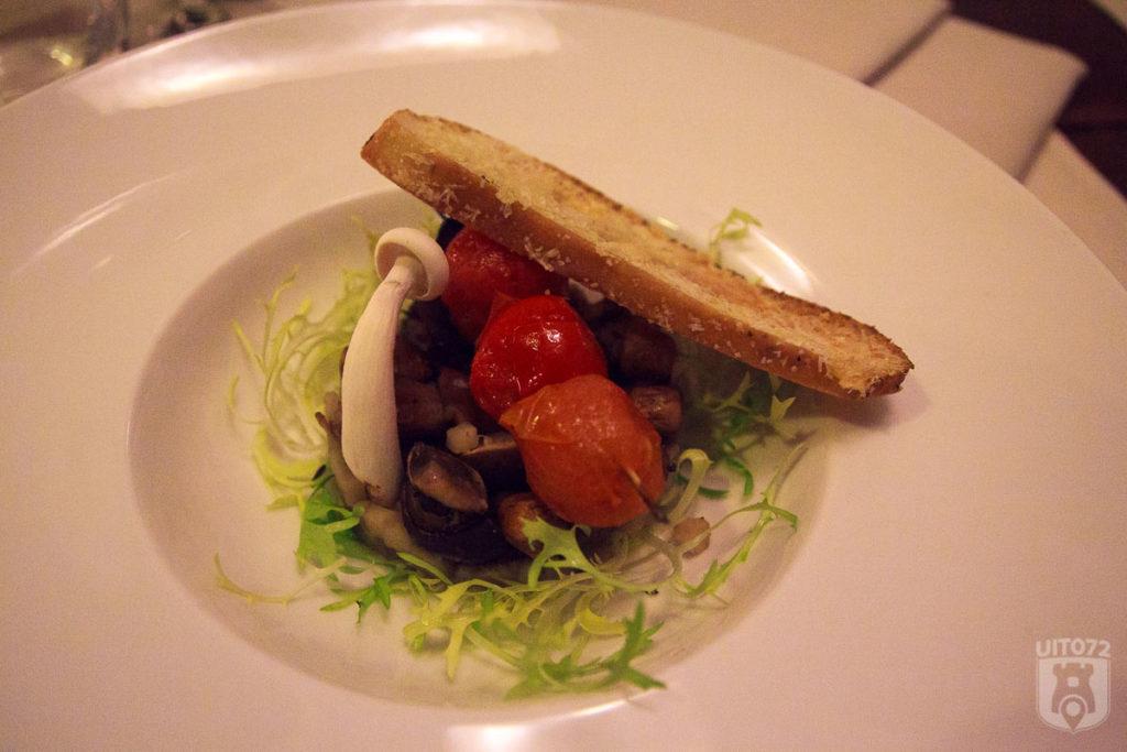 Gemarineerde paddenstoeltjes @ Le Bon (Alkmaar)