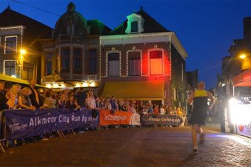 Alkmaar City Run by Night