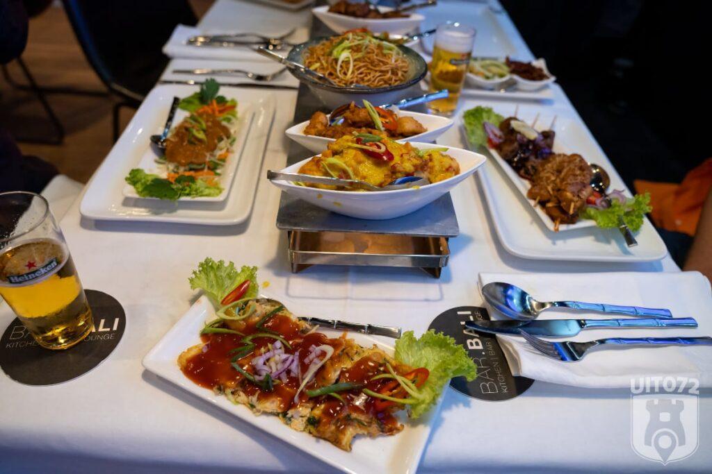 Bar Balin rijsttafel