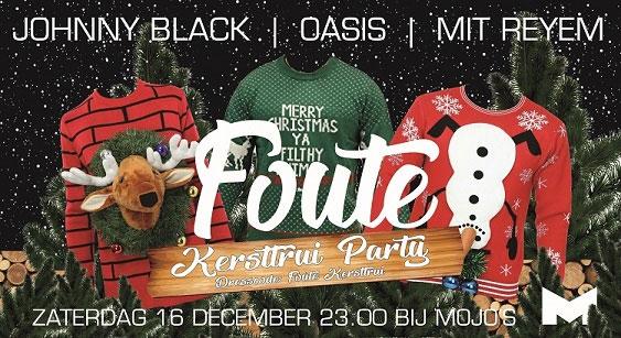 Mojo's foute kersttrui party