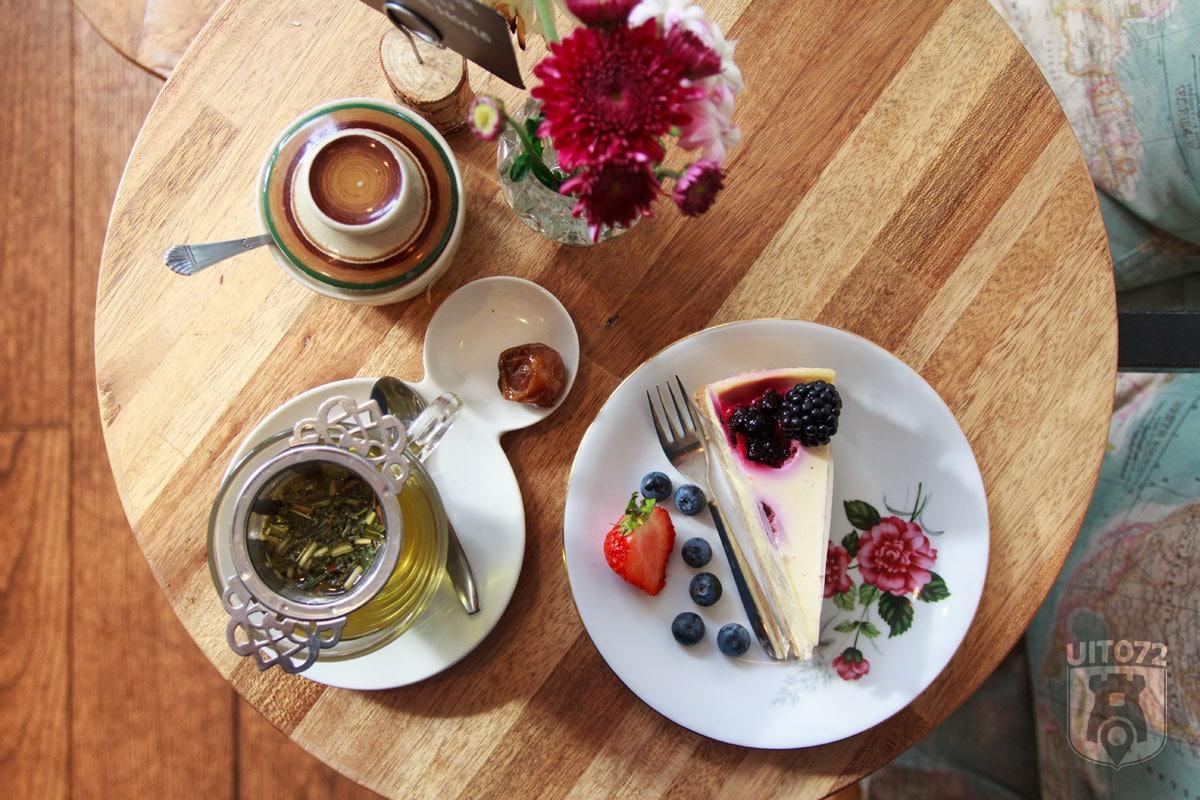 Sencha Alkmaar: thee en taart