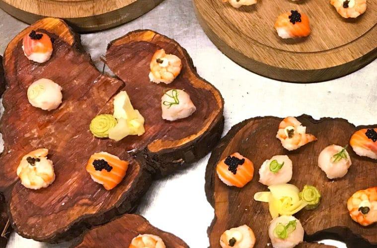 Temari sushi planken