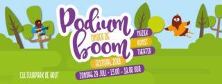 Podium onder de Boom Festival 2018