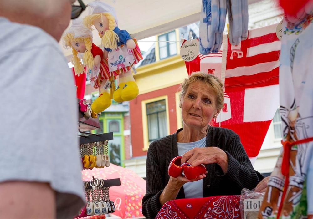 Boom Alkmaar: Bernadette op Kaasmarkt