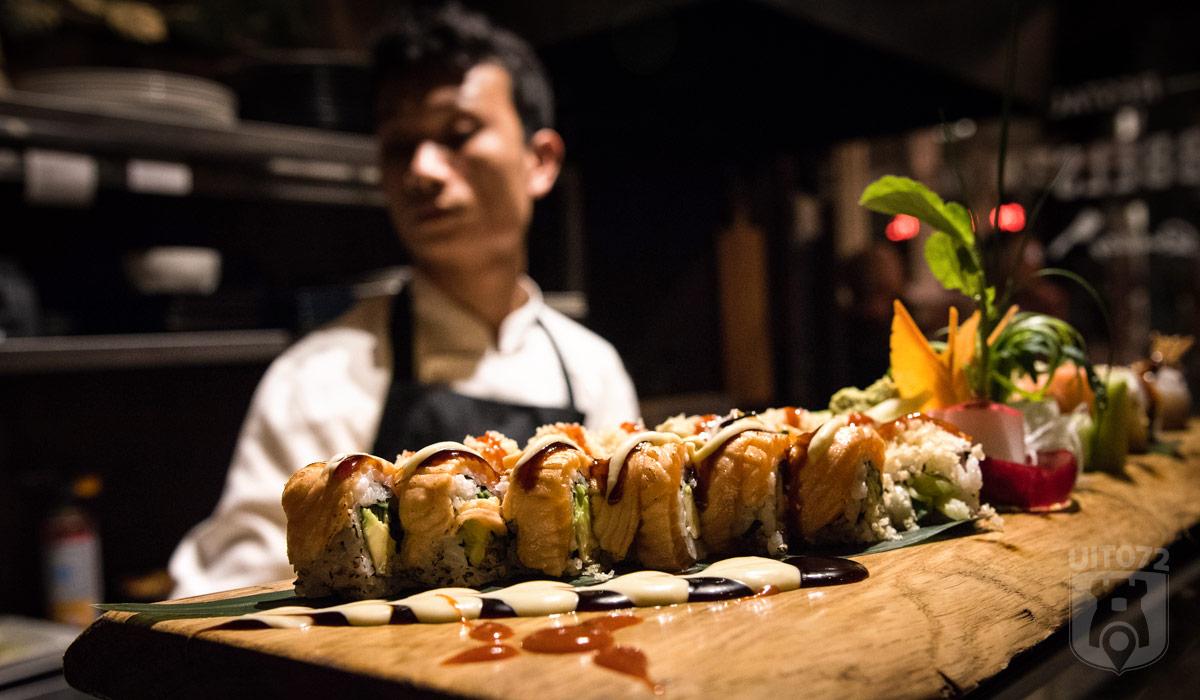 Sushi bij Bubbels & Bites