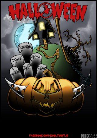 Kooltuintje Halloween