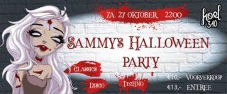 Sammy's Halloween party