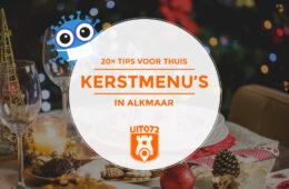 Kerstmenu's in Alkmaar