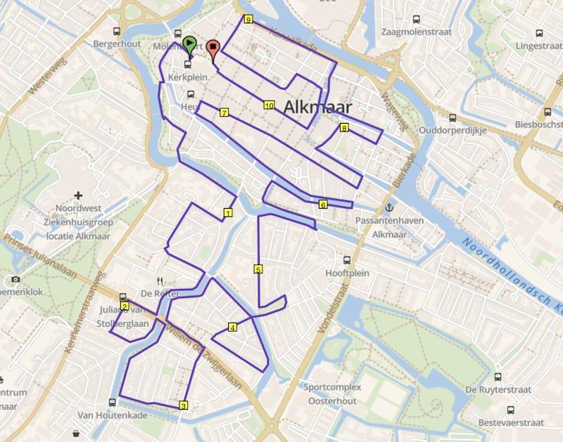 Alkmaar City Run hardlooproute