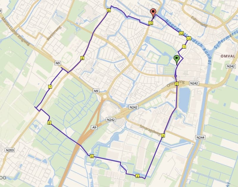 Boekelermeer hardlooproute