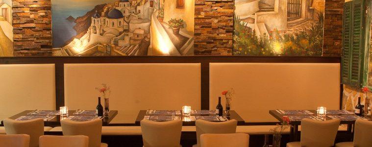 Restaurant Mylos interieur