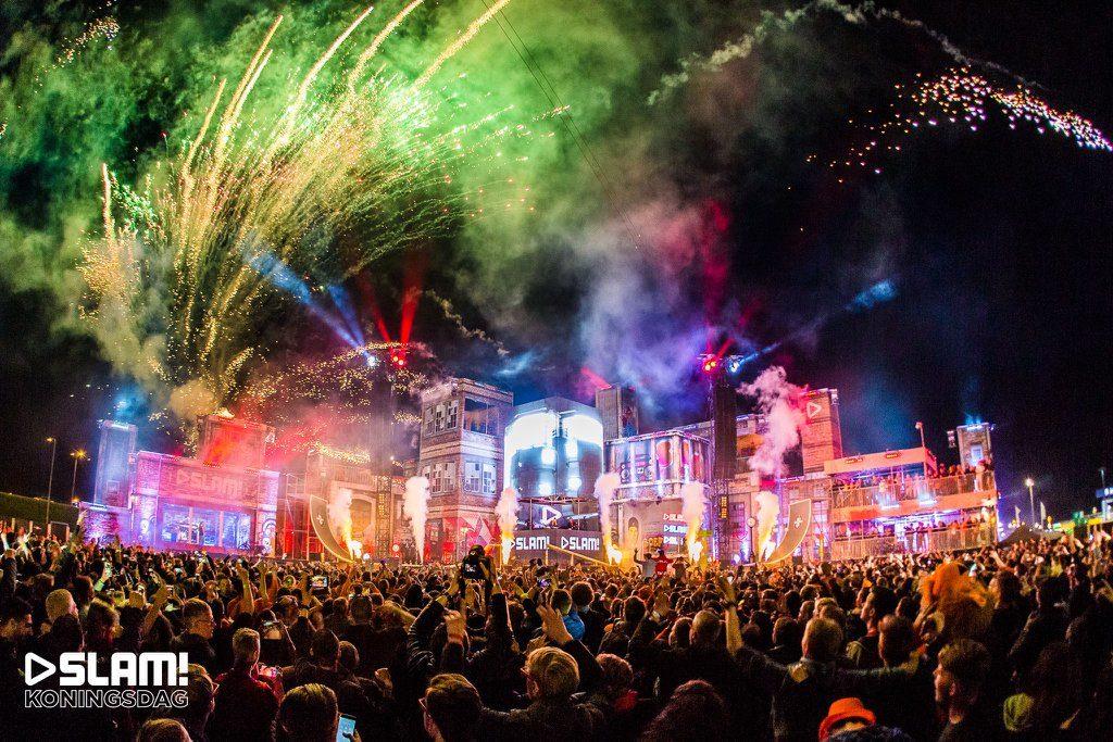 SLAM! Koningsdag Alkmaar: vuurwerk