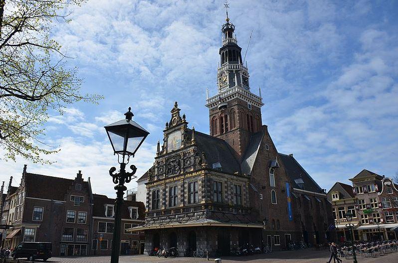Waaggebouw op het Waagplein in Alkmaar