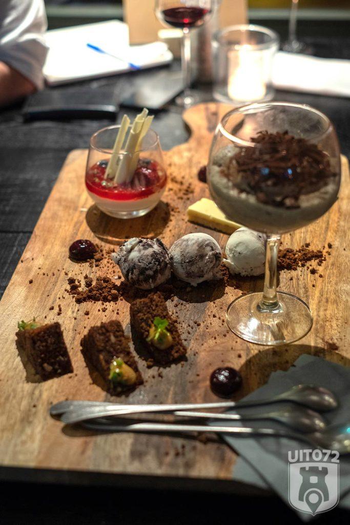 dessert plate docle