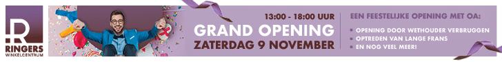 Grand Opening Ringers Winkelcentrum