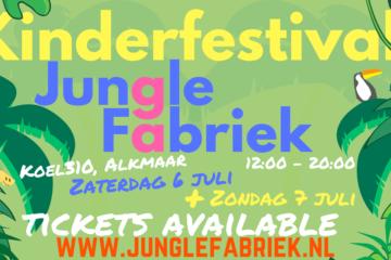 Kinderfestival JungleFabriek Alkmaar 2019
