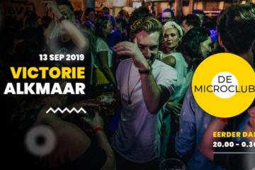Microclub - 13 september - Podium Victorie - Alkmaar