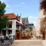 Het Alkmaars straatbeeld vroeger en nu