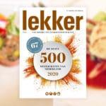 Deze 3 Alkmaarse restaurants staan dit jaar in Lekker500