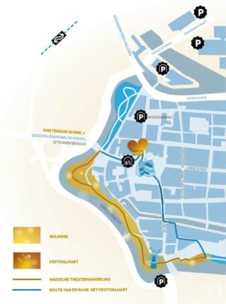 Wonderlicht Alkmaar - plattegrond