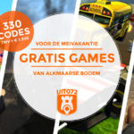 We geven 330 games weg t.w.v. ruim € 3.500!