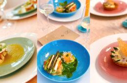Collage van gerechten bij Neder