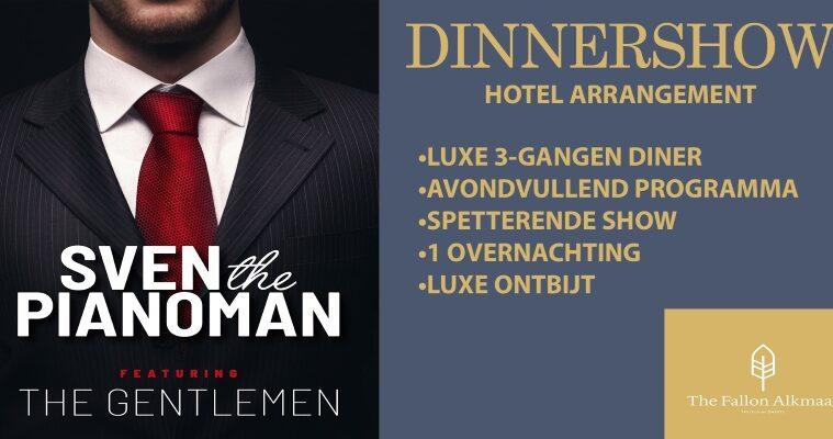 Sven The Pianoman dinnershow bij The Fallon