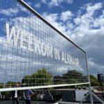 Update: 'Welkom in Alkmaar' maand lang in koeienletters te zien op station Amersfoort Centraal
